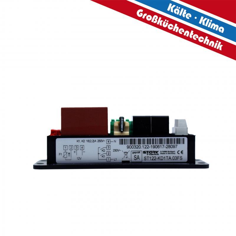 Digitaler Temperaturregler für Umluftheizung für externen Lüfter 100°C